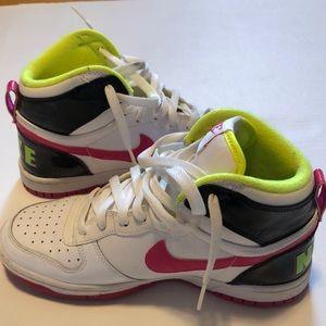 Neon Nike Dunks